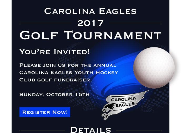 Carolina Eagles Youth Hockey Club golf fundraiser